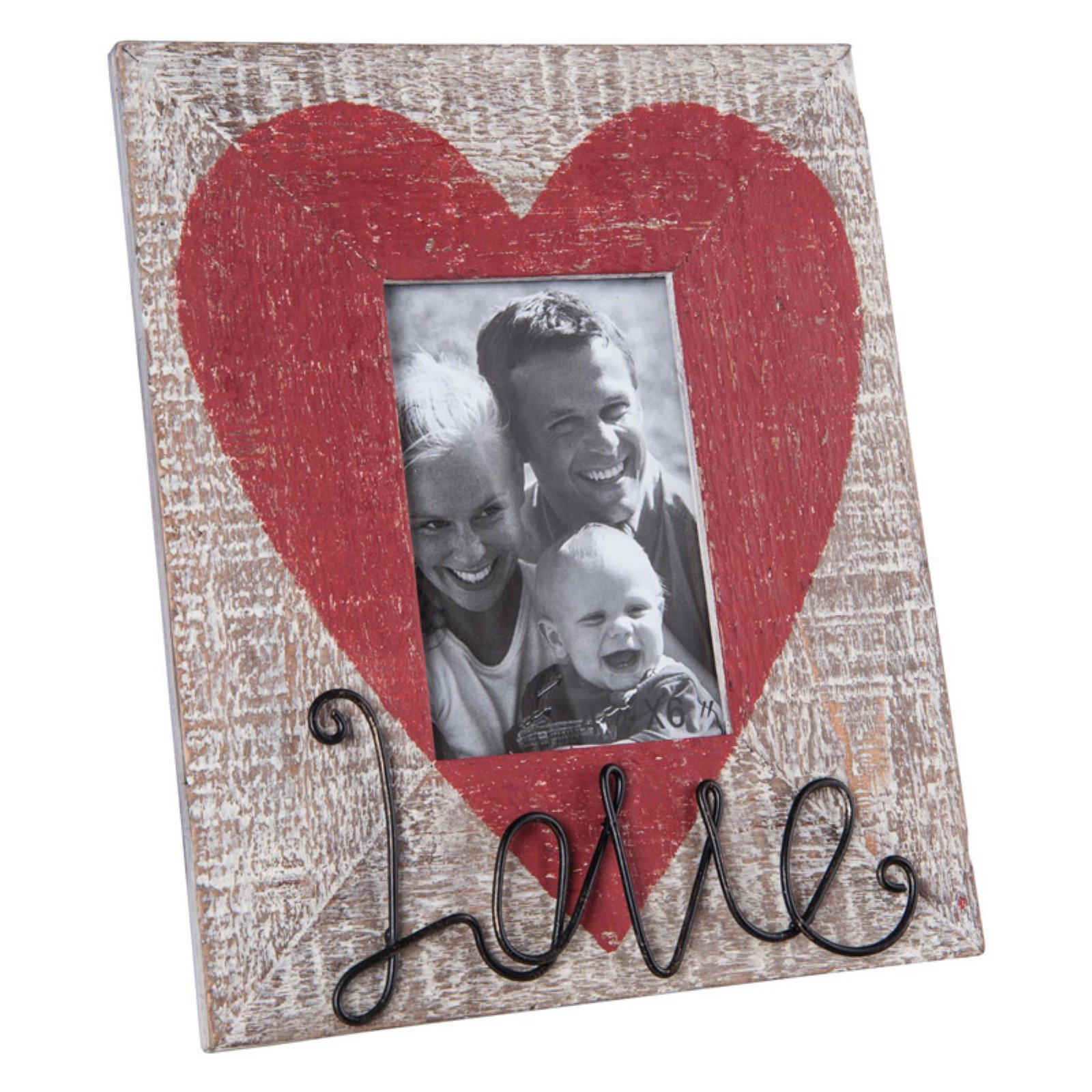 Foreside Home and Garden 4X6 Love Photo Frame