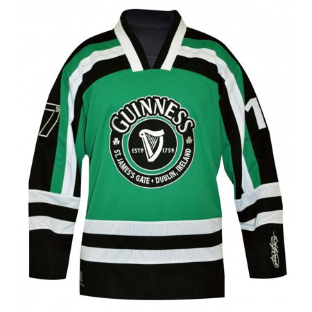 6c6be45e36252c Guinness Green Hockey Jersey - Walmart.com