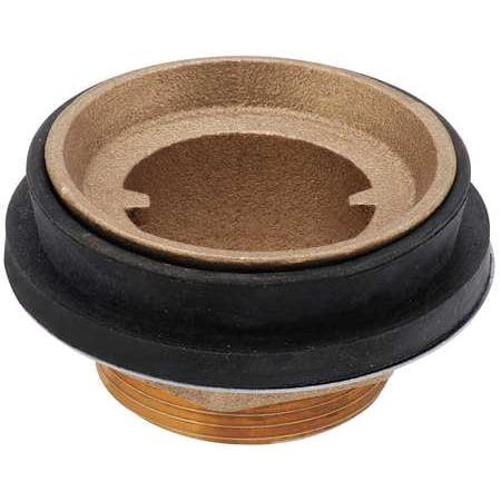 Toilet Spud2 x 1 1 2 Brass Rubber SP 250