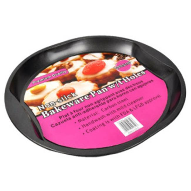 DDI 1455470 Round Bakeware Pan with Holes Case Of 4