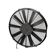 "SPAL 14"" 1038 CFM Low Profile Electric Cooling Fan P/N 33600"