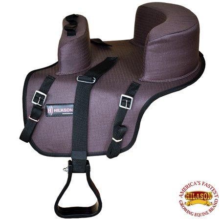 Hilason Buddy Child Seat For Horse Saddle Riding Brown