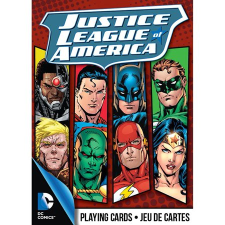 Justice League of American Playing Cards, Cartoons Comics by NMR Calendars