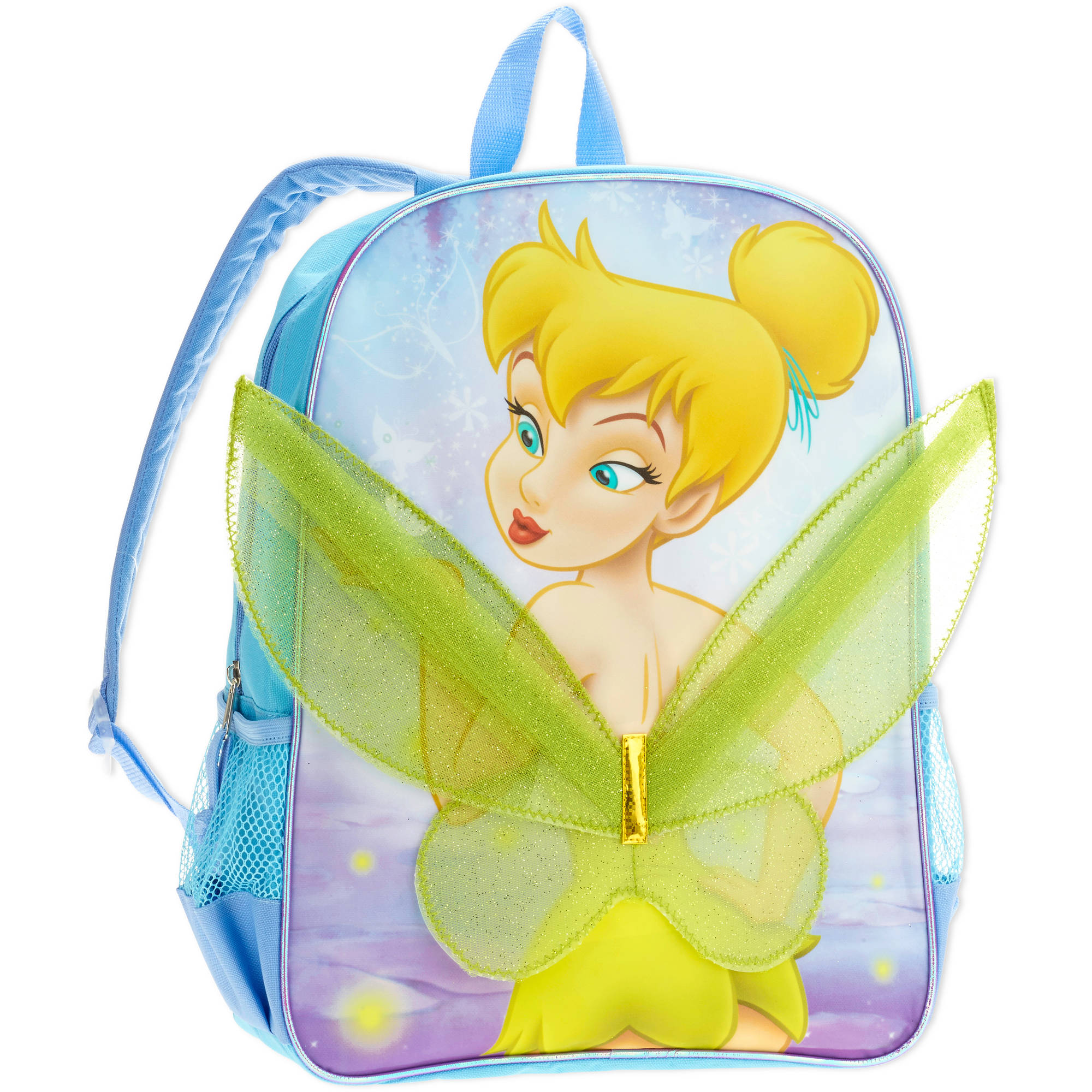 "16"" Disney Fairies Novelty Full Size Backpack"