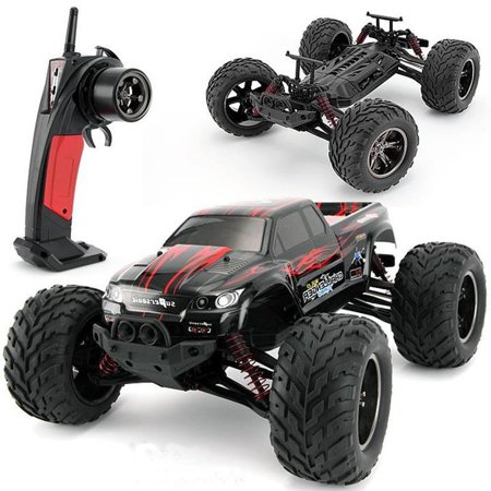 Imeshbean 1 12 Scale Electric Rc Car Offroad 2 4Ghz High Speed 42 Mph Remote Controlled Car Truck  Color  Red