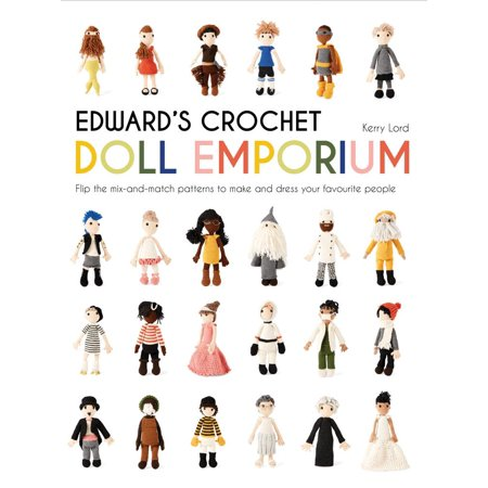 Edward's Crochet Doll Emporium : Flip the Mix-And-Match Patterns to Make and Dress Your Favourite People - Halloween Bunting Crochet Pattern