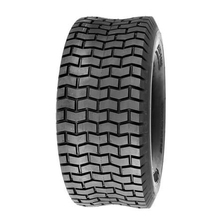Deli Tire 16 x 6.50 - 8, Turf Tire, 4 Ply, Tubeless, Lawn Mower Tire (Used Mud Tires For 16 Inch Wheels)