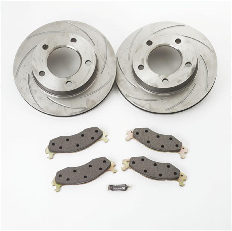 SSBC Performance Brakes A2351018 Turbo Slotted Rotors