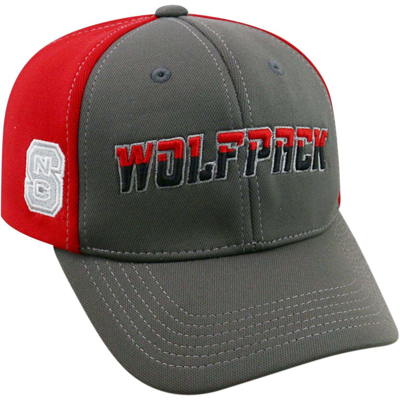 University Of North Carolina State Wolfpack Grey Two Tone Baseball Cap
