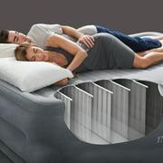 Intex Queen 22 Durabeam High Rise Airbed Mattress With Built In