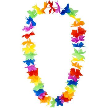Lei Necklace (each) - Party Supplies
