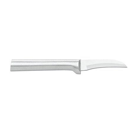 Rada Cutlery Curved Blade Paring Knife – Stainless Steel Blade With Aluminum Handle, 6-1/8 Inch