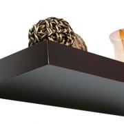 "Manhattan 10"" x 36"" Floating Shelf, Espresso"
