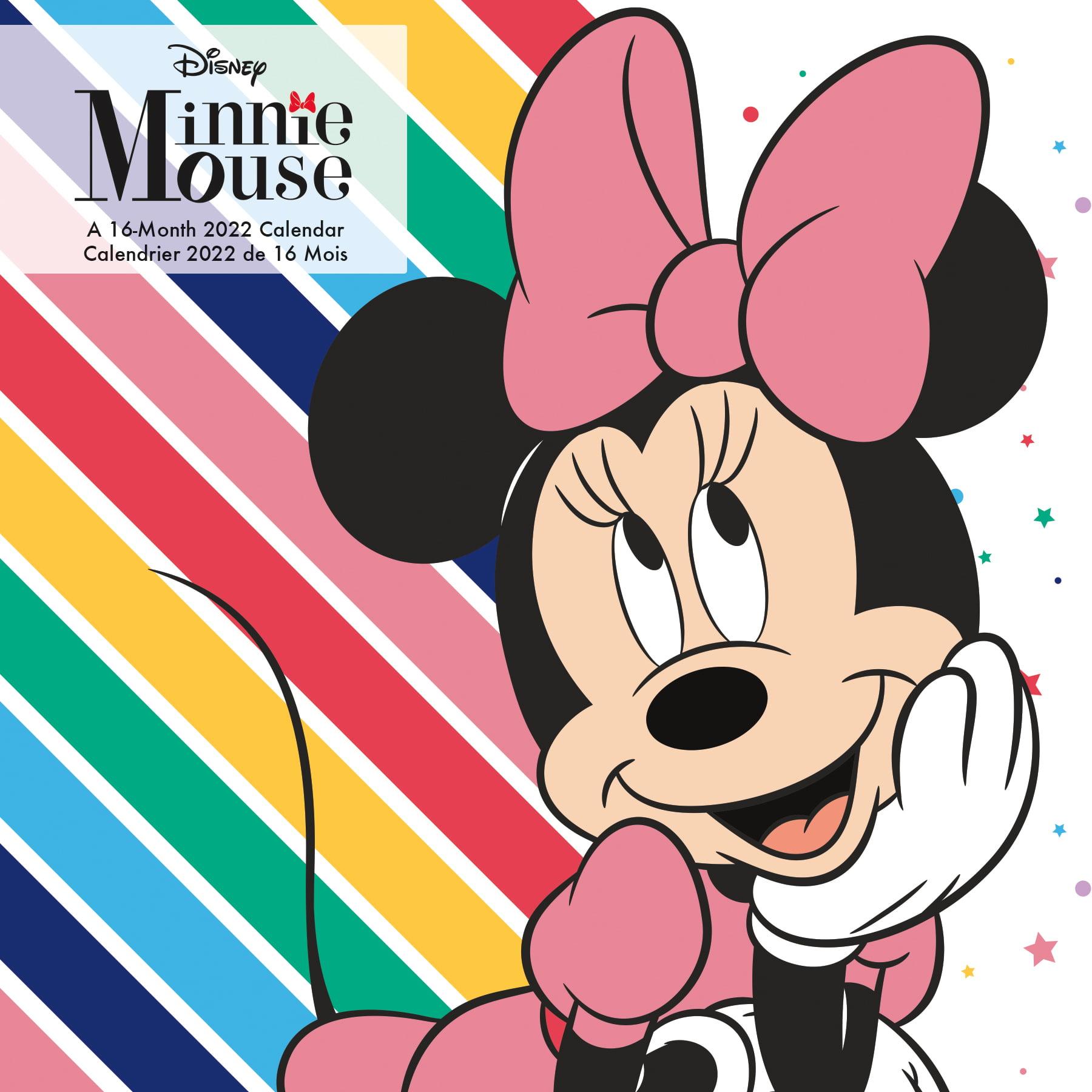 Calendrier Ultra Trail 2022 France 2022 Disney Minnie Mouse (Bilingual French) Wall Calendar