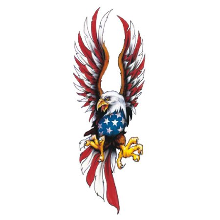 Lethal Threat American Eagle Doomed Decal Sticker 2