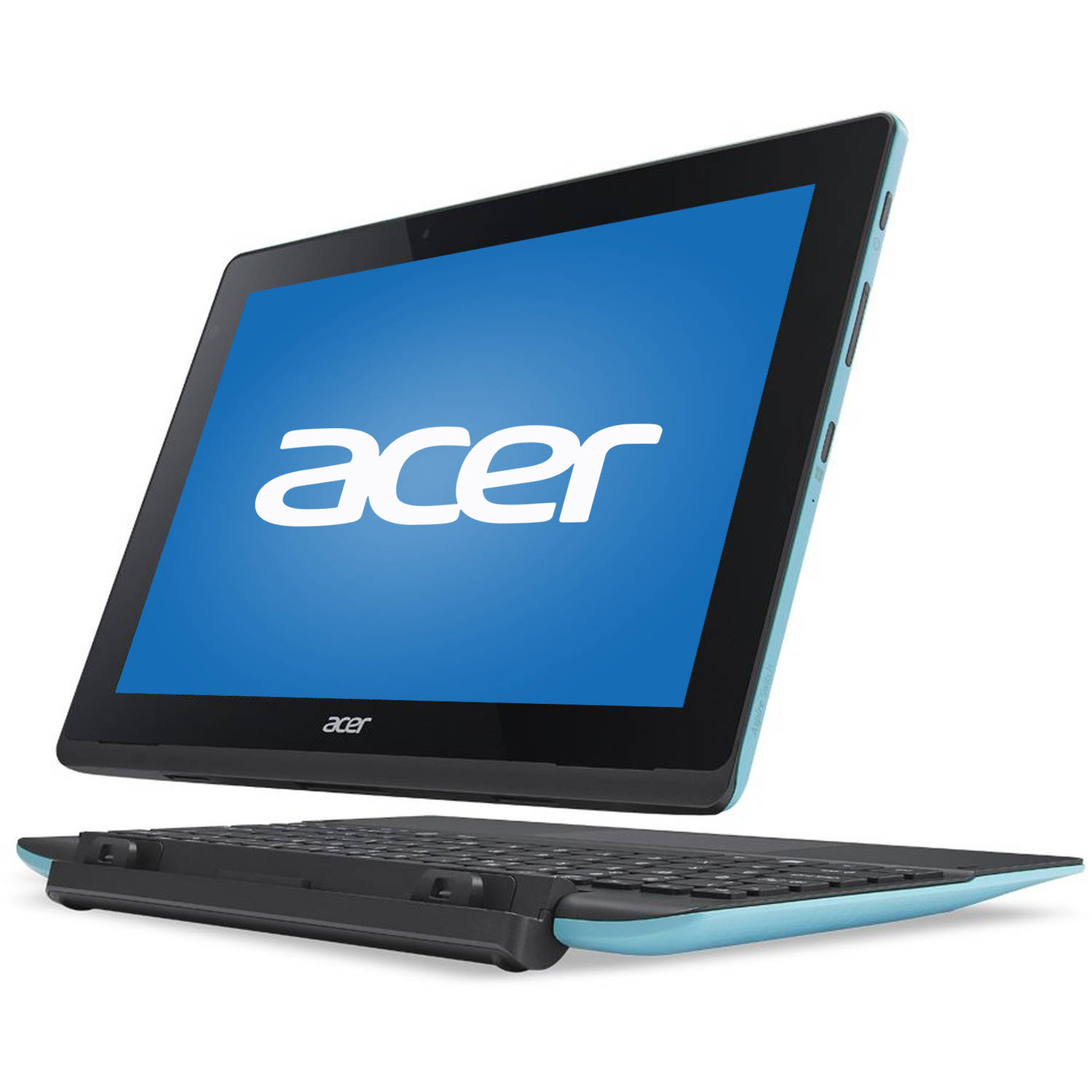 "Acer Blue 10.1"" Aspire SW3-016-17WG Laptop PC with Intel Atom x5-Z8300 Processor, 2GB Memory, touch screen, 64GB Flash Drive and Windows 10"