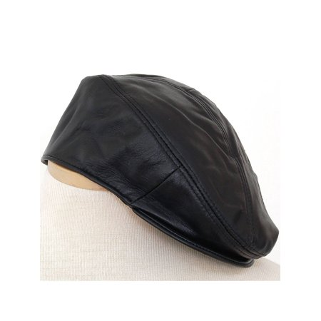 SBR Designs - Mens Leather Versatile Cap 5 Point Ivy Newsboy Beret Cabbie  Driver Flat Hat New - Walmart.com 0a10943b0d6