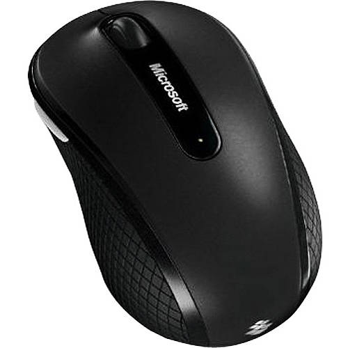 Microsoft Wireless Mobile Mouse 4000, Black