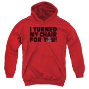 The Voice Turned My Chair Big Boys Pullover Hoodie