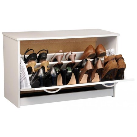 18 x 30 x 11.5 in. Single Shoe Chest - White - image 1 of 1