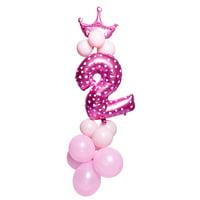 KABOER 16pcs/set Number Foil Balloons 32 inch Digit Helium Ballons Birthday
