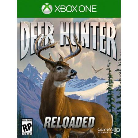 Deer Hunter Reloaded Standard Edition, Game Mill, Xbox 1, Refurbished (John Deere Video Game)