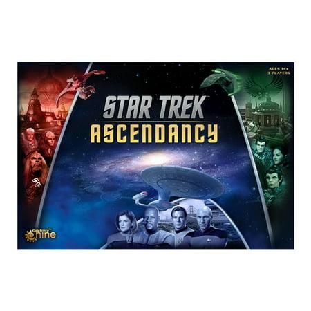 Star Trek Ascendancy Board Game Federation Romulan Klingon Empire Explore Play Gale Force Nine St001