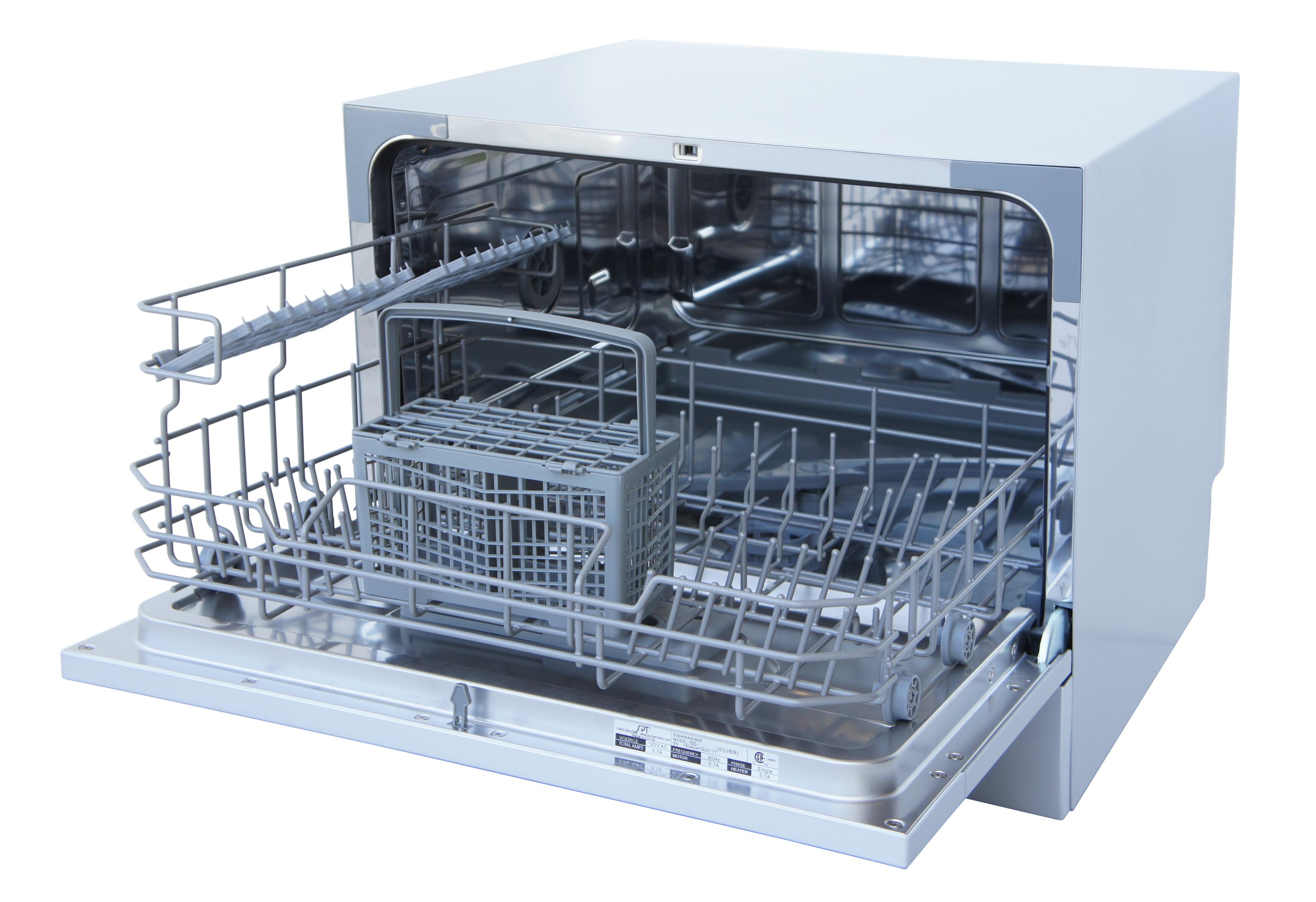 sunpentown countertop dishwasher 2210 series white walmart com rh walmart com