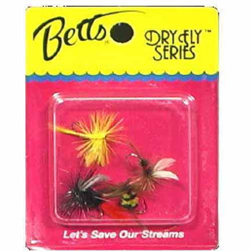 Betts Dry Fly Assortment