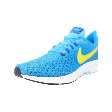 5ffe5ab5504 Nike - Nike Men s Air Zoom Pegasus 35 Blue Orbit   Bright Citron ...