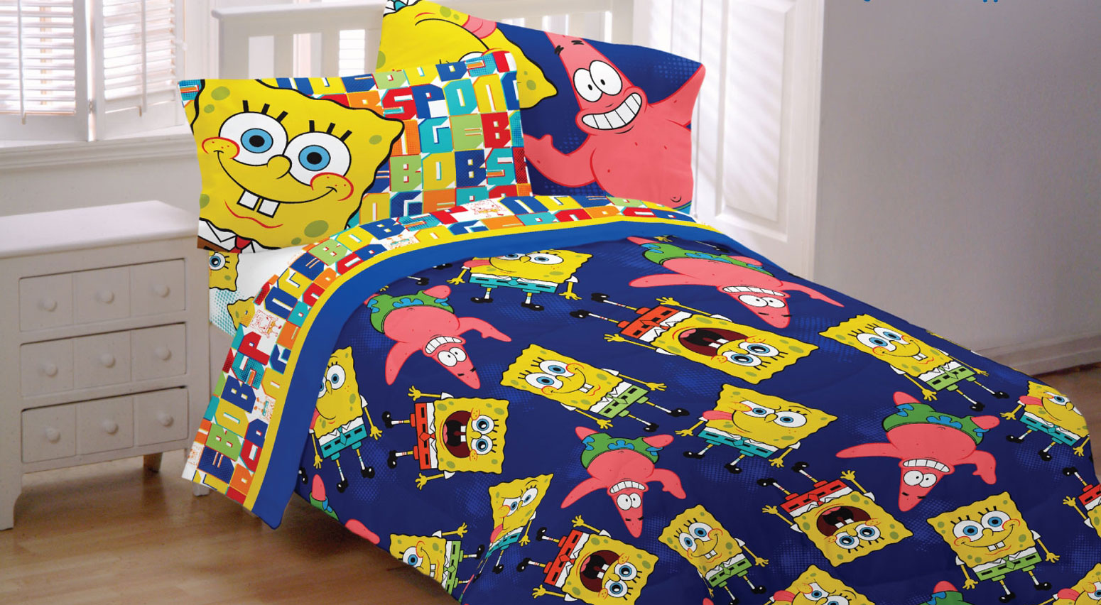 Perfect SpongeBob SquarePants Sheet Set   Walmart.com