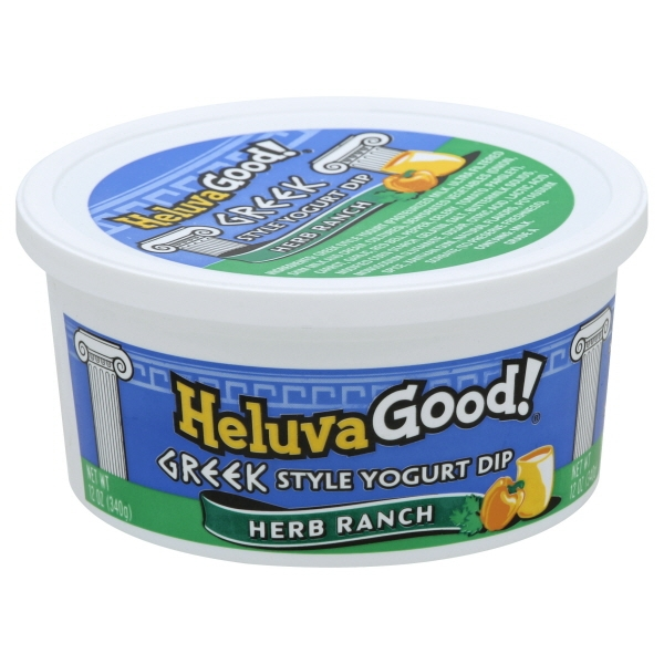 Heluva Good® Herb Ranch Greek Style Yogurt Dip 12 oz. Tub