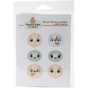 Peachy Keen Stamps Clear Face Assortment 6/pkg-wintertime Buddies