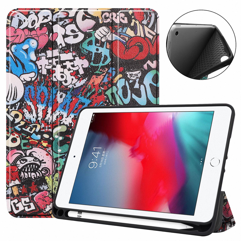 allytech ipad mini 5 case 2019 ipad mini 4 case with pencil holder ultra slim multi angle