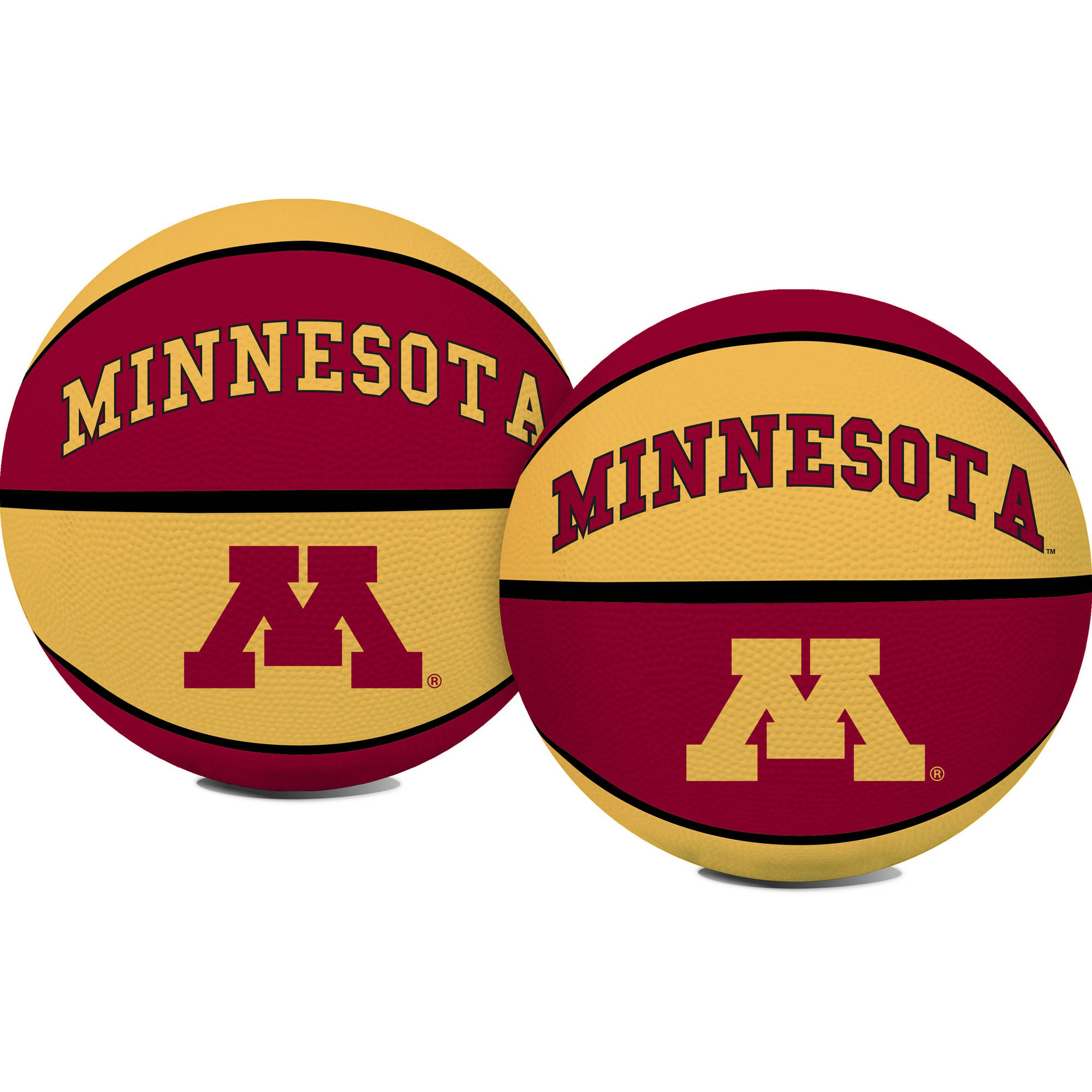 Rawlings NCAA Crossover Full Size Basketball University Of Minnesota Golden Gophers