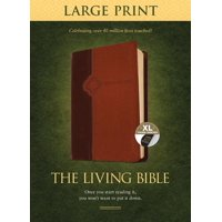 The Living Bible Large Print Edition, Tutone (Hardcover)