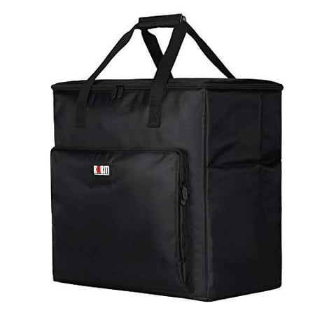 BUBM Desktop PC Computer Travel Storage Carrying Case Bag for Computer Main Processor Case, Monitor, Keyboard and Mouse This BUBM Storage Bag is specially designed for desktop pc computer,Ideal solution for desktop pc computer carrying,It can accommodate all accessories including computer main processor case, monitor, keyboard and mouse at one time. Specifications: Color:Black Weight:1.6kg Material:Nylon Size:21.3 *17.3inch*20.5inch. Package Including: 1*Desktop PC Computer Carrying Bag