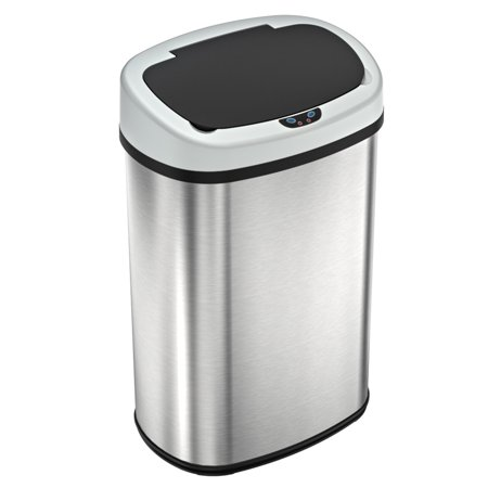 SensorCan Automatic Sensor Touchless Kitchen Trash Can ...