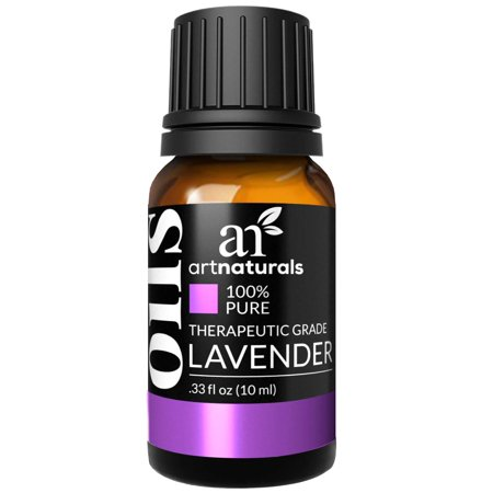 ArtNaturals 100% Pure Lavender Essential Oil - (.33 Fl Oz / 10ml) - Premium Undiluted Therapeutic Grade Natural From Bulgaria - Aromatherapy for Diffuser, Sleep, Relaxation, Skin and Hair Growth Lavender Room Diffuser