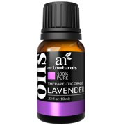 ArtNaturals 100% Pure Lavender Essential Oil -(.5 Fl Oz / 15ml) - Premium Undiluted Therapeutic Grade Natural From Bulgaria - Aromatherapy for Diffuser, Sleep, Relaxation, Skin and Hair Growth