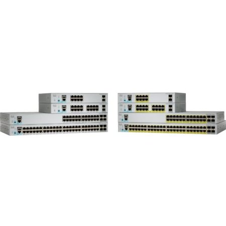 Cisco Catalyst 2960-L WS-C2960L-SM-48TS Layer 3 Switch