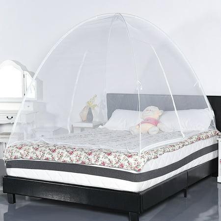 Gymax Portable Folding Mosquito Net Tent Bed Anti Zipper Mosquito Bites POP UP Net - image 5 de 9