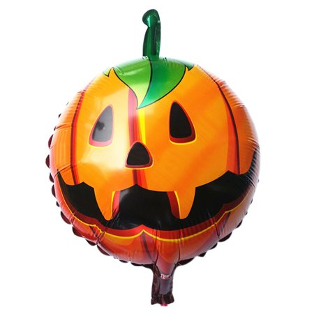 Halloween Pumpkin Balloon Game (Halloween pumpkin head Decorative Foil)
