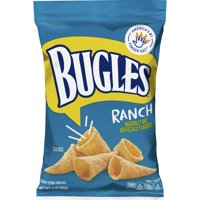 Bugles Ranch Crispy Corn Snacks, 3.0 OZ