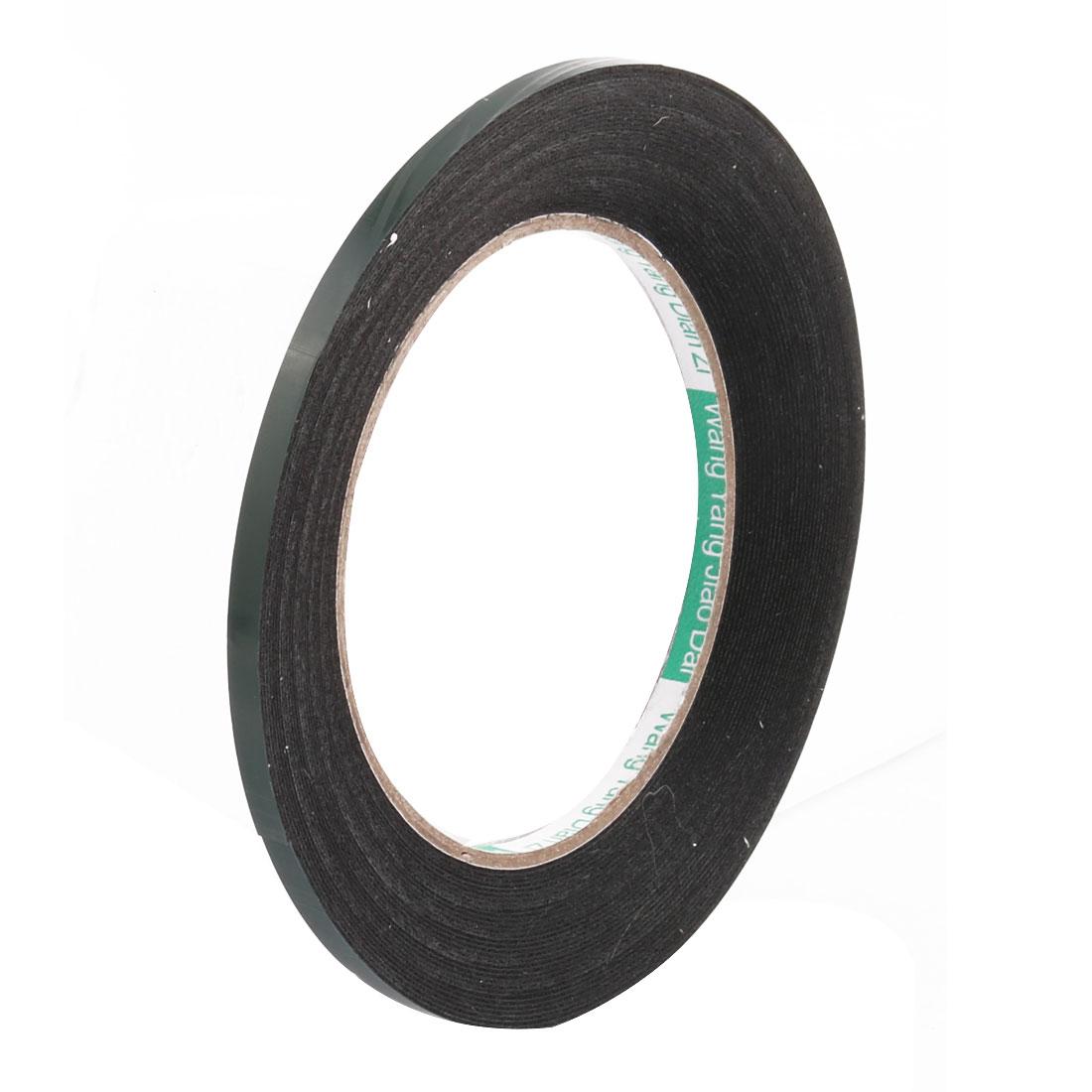 5mmx0.5mm Double Sided Sponge Tape Adhesive Sticker Foam Glue Strip Sealing 10M