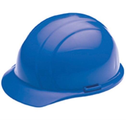 ERB Safety Americana Cap Style: 4-Point Nylon Suspension With Slide-Lock Adjustment Safety Helmet