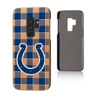 Indianapolis Colts Galaxy Plaid Design Cherry Case