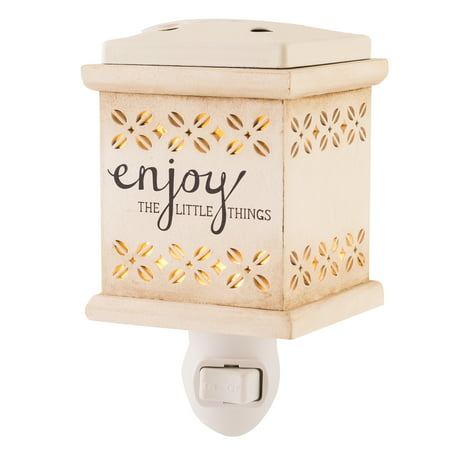 ScentSationals Enjoy the Little Things Wall Accent Scented Wax Warmer