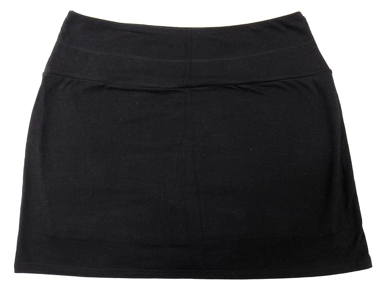 Nanette Lepore Play Womens Size Black Active Skinny Skort, Black by