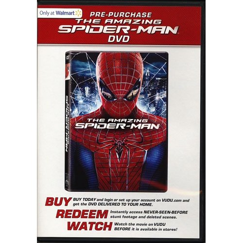 The Amazing Spider-Man (DVD + VUDU) (Exclusive) (Anamorphic Widescreen)